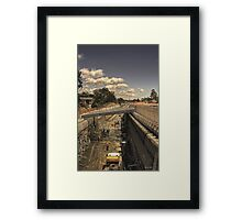 Robina tunnel, an update. Framed Print
