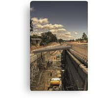 Robina tunnel, an update. Canvas Print