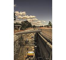 Robina tunnel, an update. Photographic Print