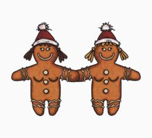 lesbian gingerbread couple by Corrie Kuipers
