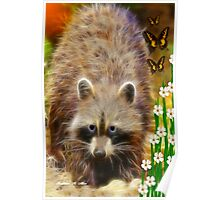 ~ RICKY RACCOON ~ Poster