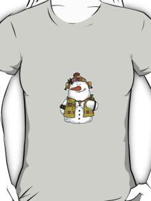 butch snow woman T-Shirt