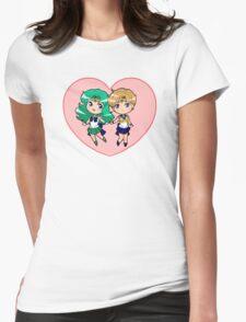 Uranus and Neptune Womens Fitted T-Shirt