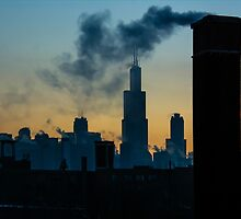 Sears, Smoke, Silhouette by anjoaguilar