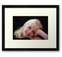 JUST ANOTHER HANNAH! Framed Print