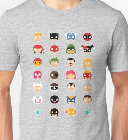 Super Alphabet! Unisex T-Shirt