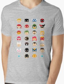 Super Alphabet! Mens V-Neck T-Shirt