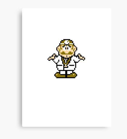 Dr Mario 2 Canvas Print