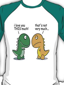 T. Rex Love T-Shirt