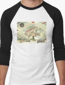50 Years Ago Men's Baseball ¾ T-Shirt