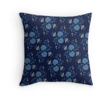 Shell Pattern Throw Pillow