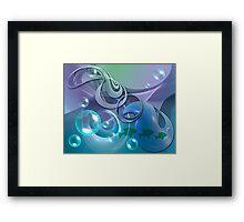 Fantasy ocean Framed Print