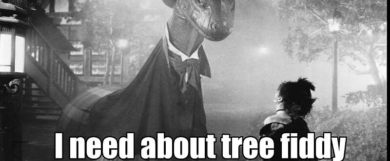 """Imma need bout tree fiddy"" Mugs by carrayhay   Redbubble"