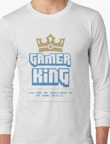 Gamer King v.2 Long Sleeve T-Shirt