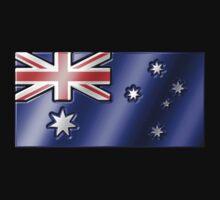 Australian Flag - Australia - Metallic Kids Clothes
