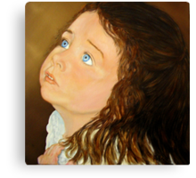Portrait of Anna  - Oil Painting Canvas Print