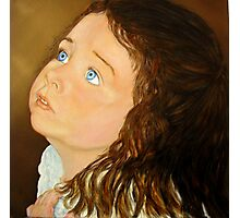 Portrait of Anna  - Oil Painting Photographic Print