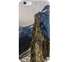 Mount Yamnuska iPhone Case/Skin