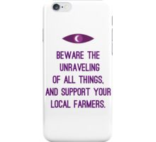 Unraveling of all things iPhone Case/Skin