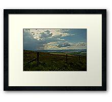 Looking seaward Framed Print