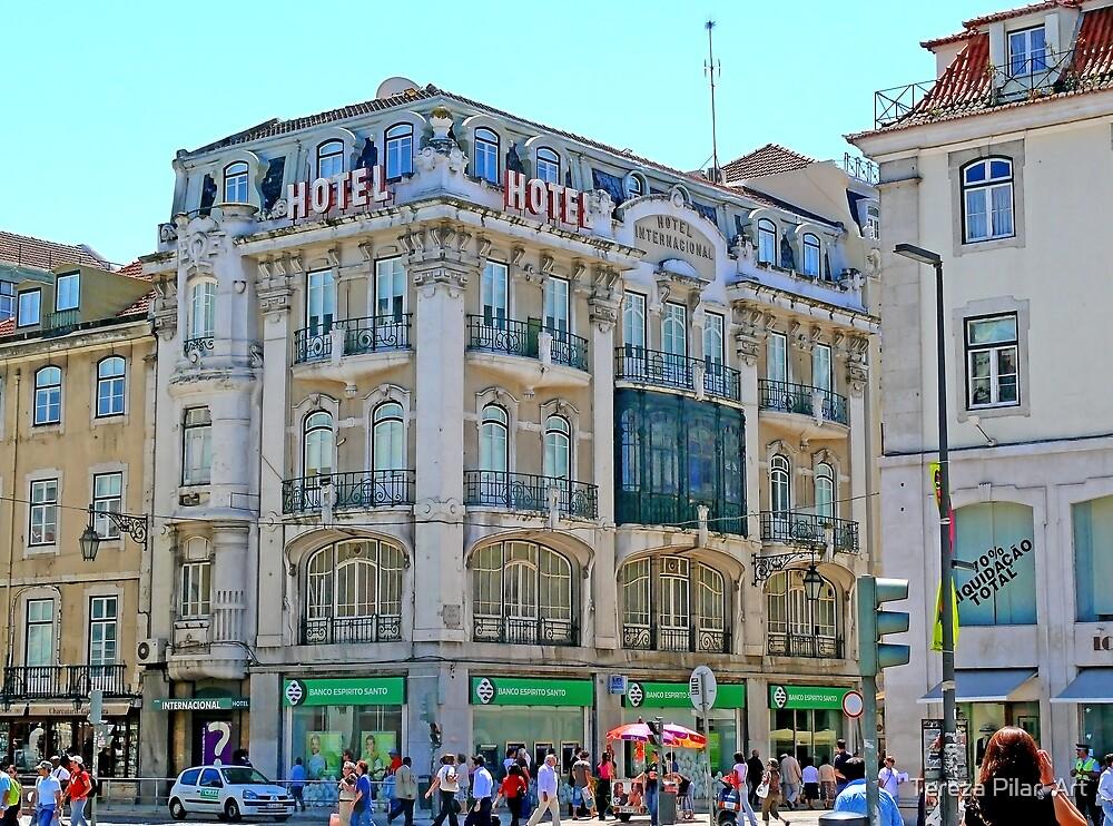 Lisbon. Rua Augusta by terezadelpilar~ art & architecture