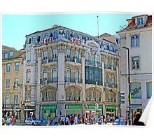Lisbon. Rua Augusta Poster