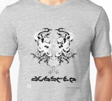 Evil Tribal Dubstep Skull Unisex T-Shirt