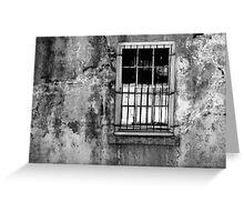 Window, Beaufort, South Carolina Greeting Card