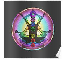 Meditation & the Chakras Poster