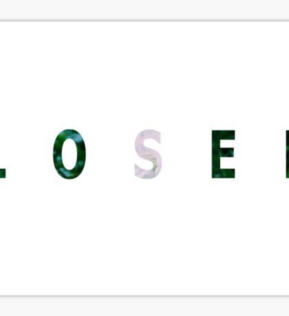 loser OG LONELY WHITE FLOWER Sticker