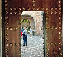 Alhambra Judas Gate by phil decocco