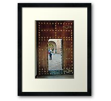 Alhambra Judas Gate Framed Print