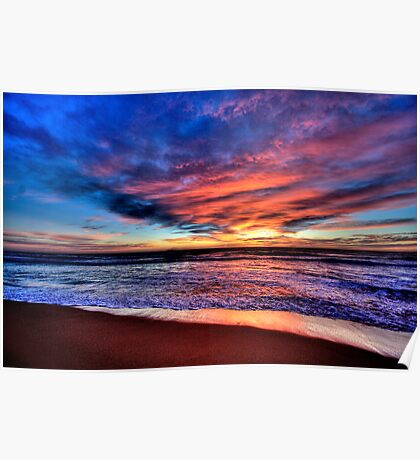 Daybreak - Newport Beach , NSW - The HDR Experience Poster