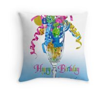 Celebrating You Throw Pillow