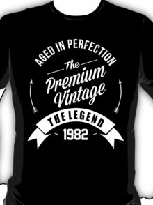 Vintage 1982 Aged To Perfection T-Shirt