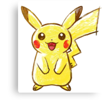 POKEMON PIKACHU ! GOTTA CATCH EM ALL ! Canvas Print