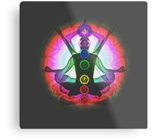 Meditation & the Chakras II Metal Print