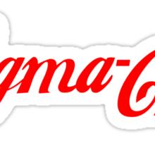 Sigma Chi - Cola Sticker