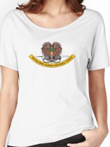 Papua New Guinea Defence Force Emblem Women's Relaxed Fit T-Shirt