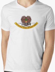 Papua New Guinea Defence Force Emblem Mens V-Neck T-Shirt