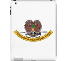 Papua New Guinea Defence Force Emblem iPad Case/Skin