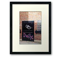 Daily Framed Print