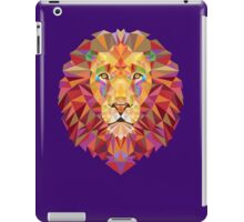 Geometric Lion iPad Case/Skin