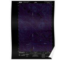 Maine USGS Historical Map Middle Brook Mountain 20110909 TM Inversion Poster