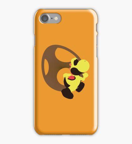 Yoshi (Yellow, Smash 4) - Sunset Shores iPhone Case/Skin