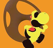 Yoshi (Yellow, Smash 4) - Sunset Shores by Kevandre