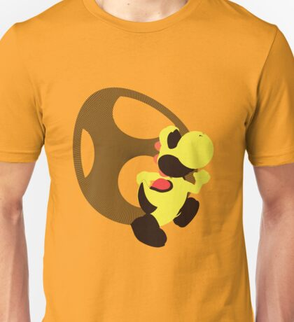 Yoshi (Yellow, Smash 4) - Sunset Shores Unisex T-Shirt