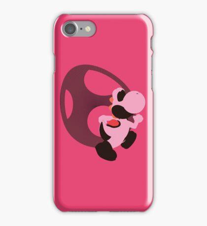 Yoshi (Pink, Smash 4) - Sunset Shores iPhone Case/Skin