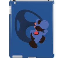 Yoshi (Dk Blue, Smash 4) - Sunset Shores iPad Case/Skin