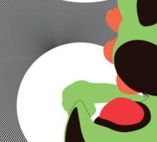 Yoshi (Green, Smash 4) - Sunset Shores Sticker